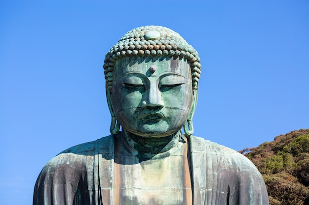 Statues de bouddha à kamakura, japon