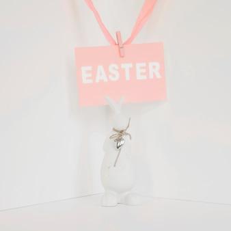 Statuette de pâques et de lapin