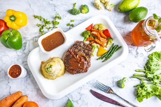 Steak au poivre