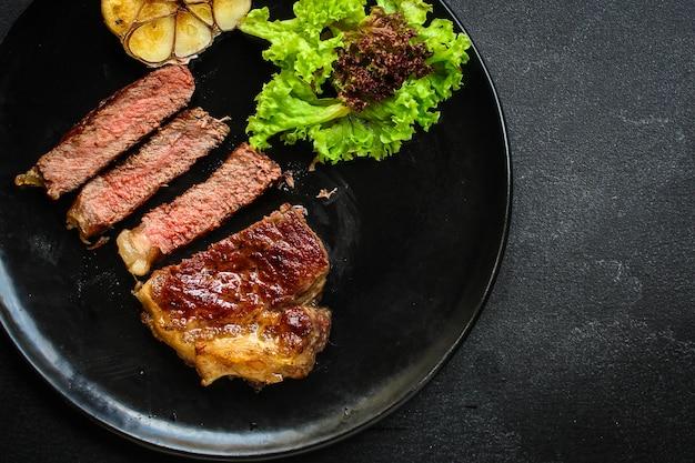 Steak de boeuf frit grill