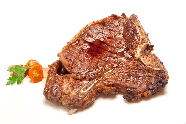 Steak de boeuf t-bone