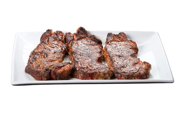 Steak chorizo, parrilla argentine