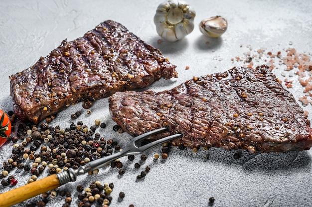 Steak de denver grillé