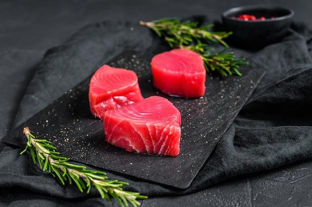 Steak de filet de boeuf cru