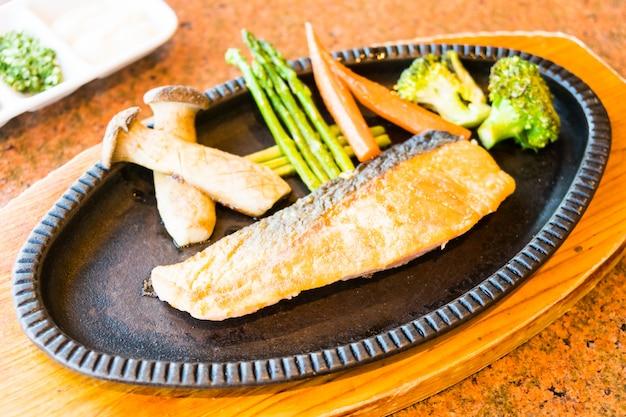Steak de saumon