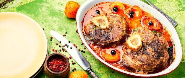 Steak de veau italien ossobuco
