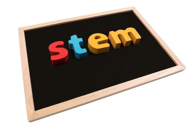Stem education. science technologie ingénierie mathématiques.