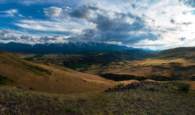 Steppe de kurai et crête de northchui
