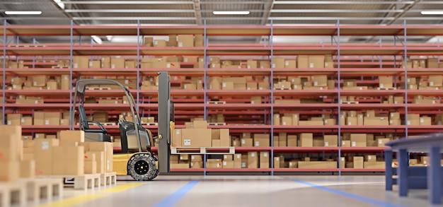 Stock de marchandises en entrepôt