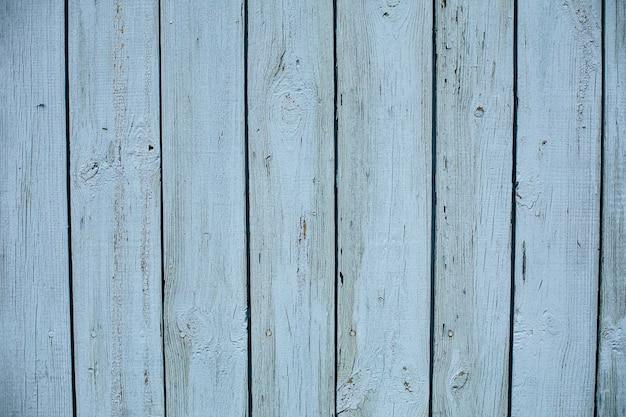 Stock photo d'un fond texturé en bois peint d'un hangar. planches de bois bleu clair.