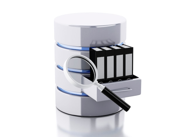 Stockage de données 3d avec des dossiers