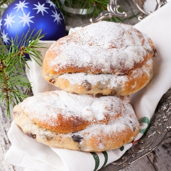 Stollen de noël traditionnel