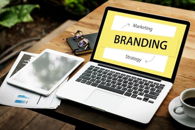 Stratégie de marque marketing business design graphique