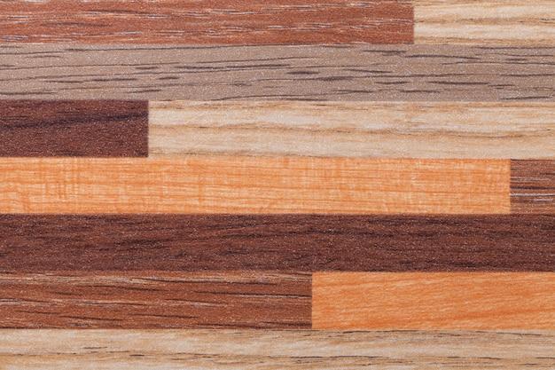 Stratifié vintage shabby marron clair et foncé