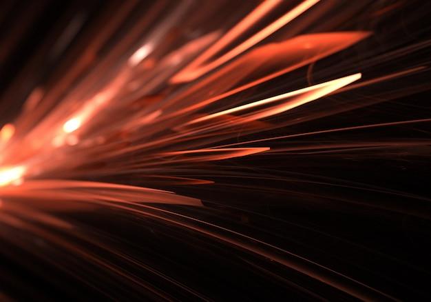 Stries de lumière rouge fond d'écran