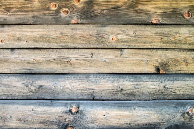 Structure de fond de planches d'épicéa claires disposées horizontalement. espace pour le texte.
