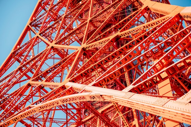 Structure de la tour de tokyo