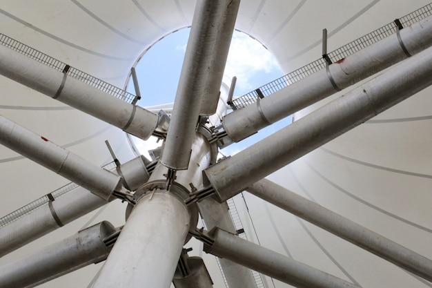 Structure de tuyau de toit