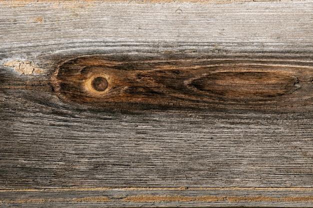 Structure de la vieille planche de bois brun. gros plan de la texture en bois