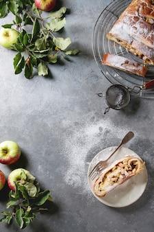 Strudel aux pommes fait maison