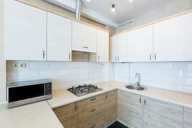 Studio de cuisine photographie d'intérieur dans un style loft moderne