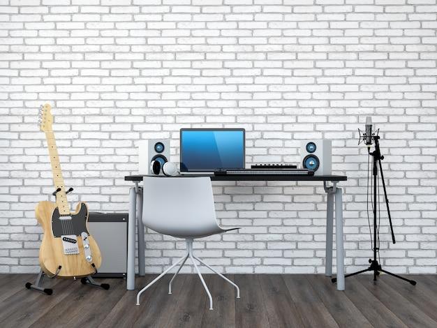 Studio d'enregistrement à domicile