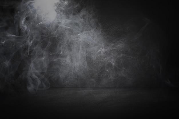 Studio noir et tableau et fond intérieur