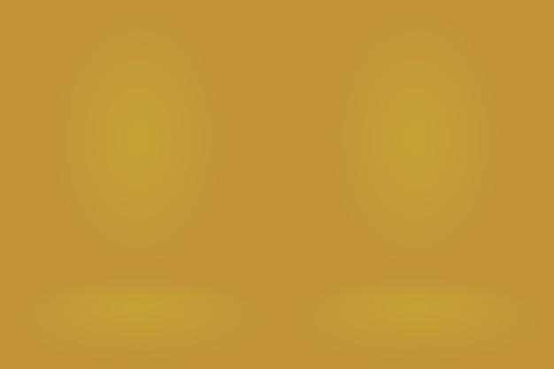 Studio d'or de luxe abstrait bien utilisé comme arrière-plan et présentation