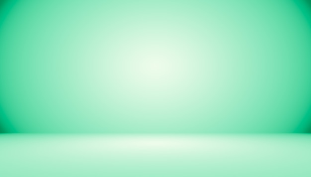 Studio vert vide bien utilisé comme arrière-planmodèle de site webcadrerapport d'activité