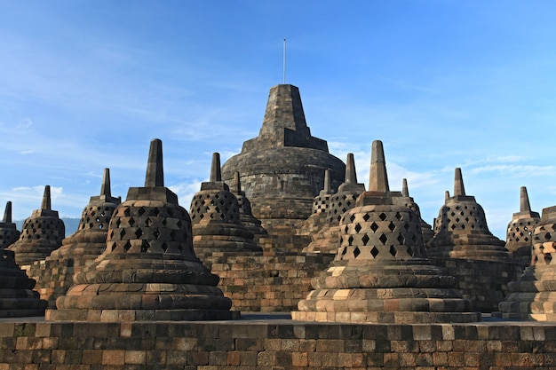 Stupa du temple de borobudur