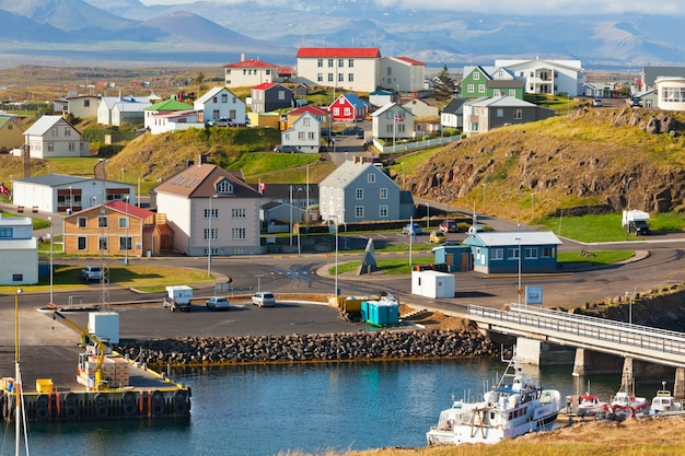 Stykkisholmur, la partie occidentale de l'islande