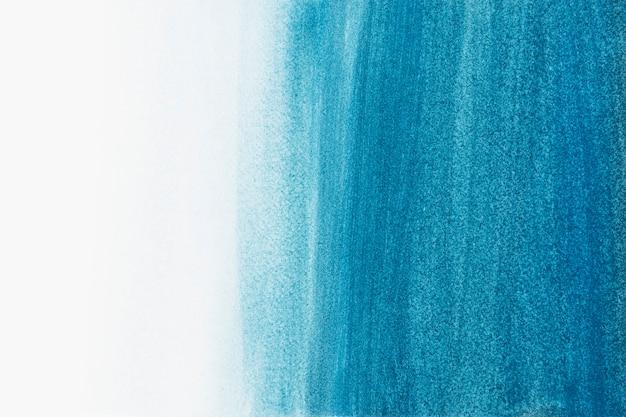 Style abstrait de fond aquarelle mer bleu ombré