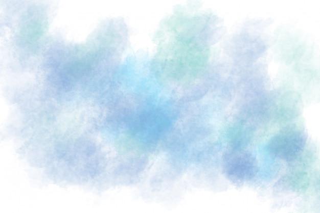 Style abstrait splash aquarelle fond bleu pour la décoration de fond ou de carte