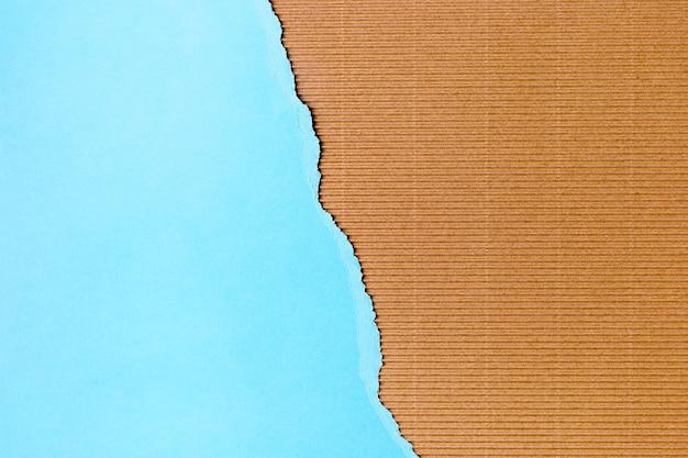 Style de fond de forme de papier bleu clair