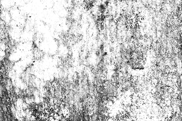 Style de grunge abstrait noir et blanc de texture.