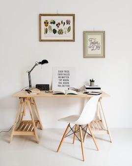 Style minimal d'espace de travail