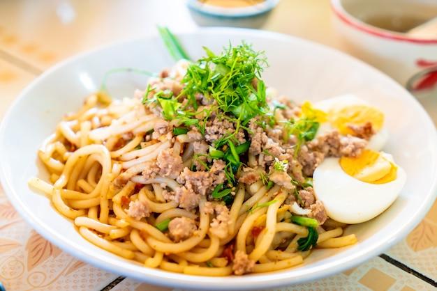 Style de nouilles chinoises du yunnan