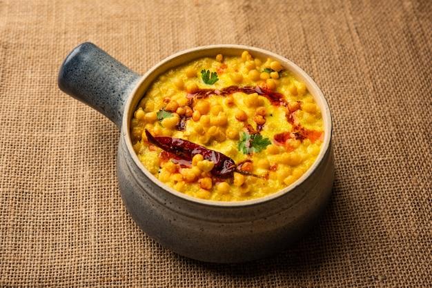 Style punjabi dahi boondi kadhi ou kadi ou curry