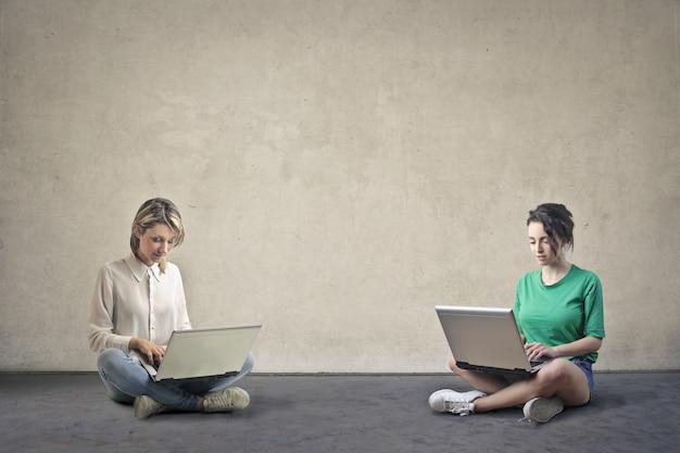 Style de travail nomade numérique