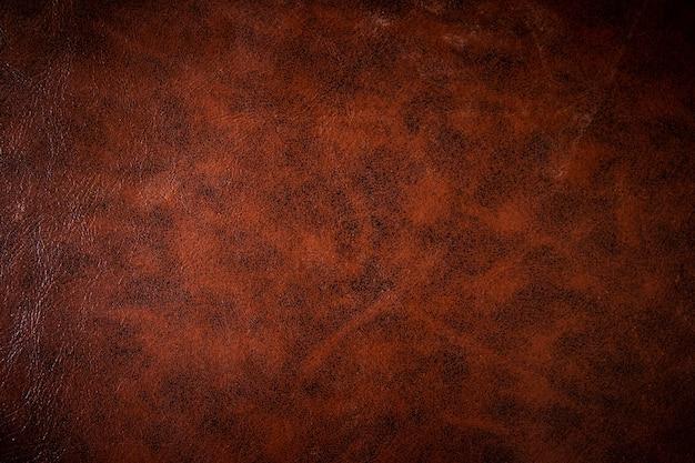 Style vintage ou ancien de texture de cuir marron utilisé comme arrière-plan