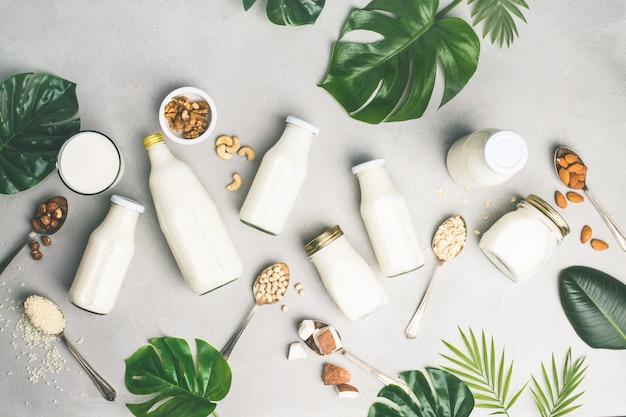 Substituts de lait sans produits laitiers, boissons et ingrédients
