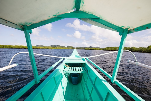 Sugba lagoon à siargao, philippines