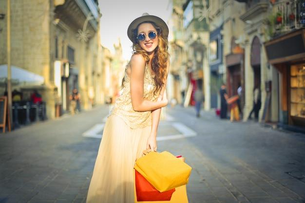 Summer shopping dans la ville