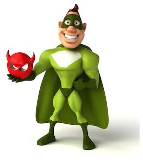 Super-héros amusant