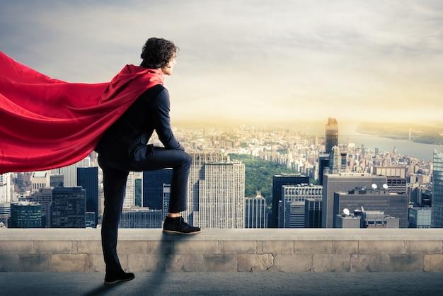 Super-héros de la ville