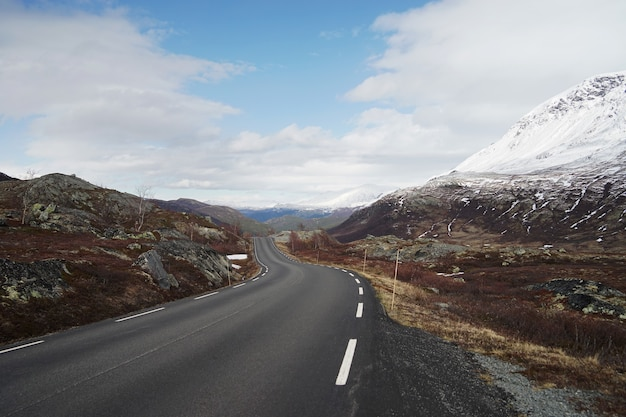 Superbe paysage de norvège