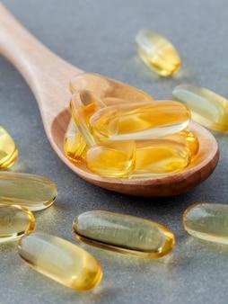 Le supplément riche en vitamine e et en oméga 3.
