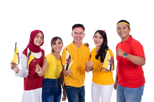 Supporter de l'équipe nationale brunei