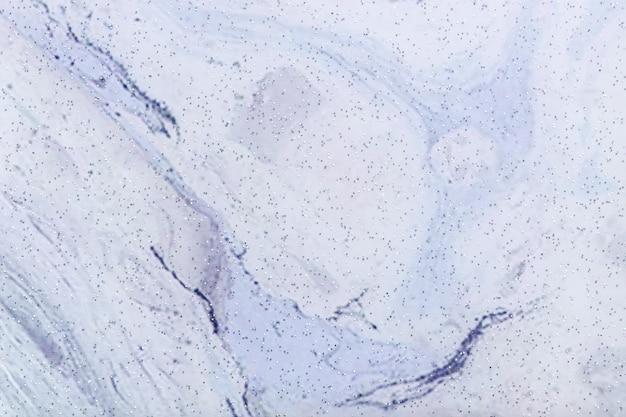 Surface abstraite avec huit couleurs bleues et blanches