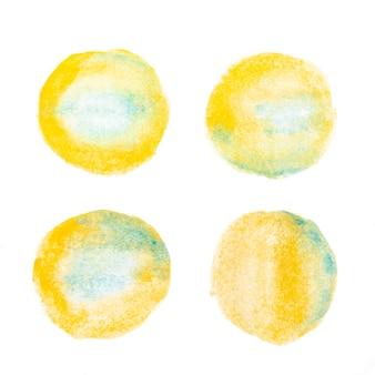 Surface abstraite peinte à l'aquarelle